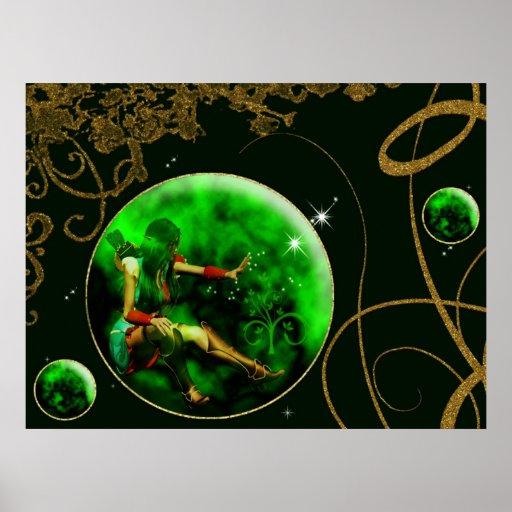 La serie encantada poster II de la gema del doblad