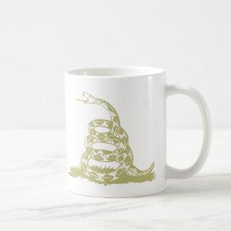 La serpiente de cascabel de Gadsden, capítulo negr Tazas De Café