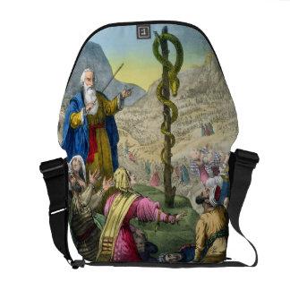 La serpiente descarada, de una biblia impresa por  bolsas de mensajeria