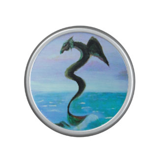 La serpiente oscura del agua altavoz
