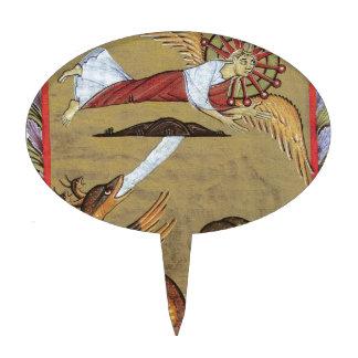 La serpiente Siete-dirigida de la revelación Decoración Para Tarta