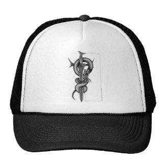 La serpiente y la espada gorra