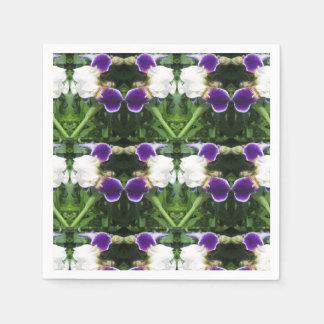 La servilleta de papel florece ARTE de las guirnal