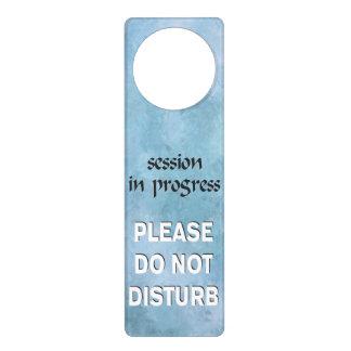 La sesión en curso no perturba por favor colgante para puerta
