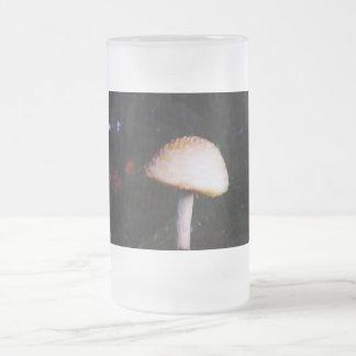 La seta taza de cristal