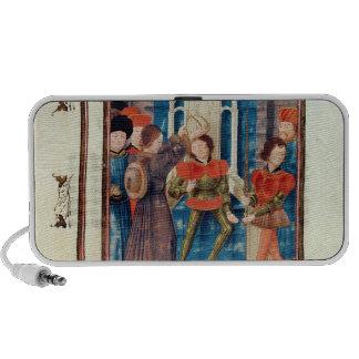 La sexta cuenta de Baldwin I de Hainaut coronó Notebook Altavoces