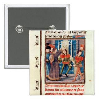 La sexta cuenta de Baldwin I de Hainaut coronó Pin Cuadrado