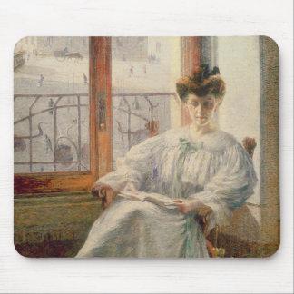La Signora Massimino, 1908 (oil on canvas) Mouse Pad