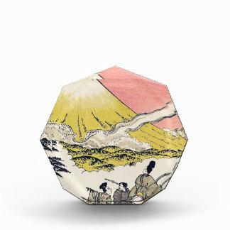 La sílaba él que pasa arte del japonés del monte F