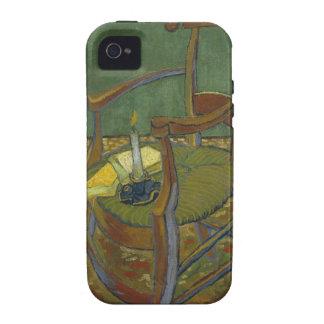 La silla de Gauguin Case-Mate iPhone 4 Carcasa