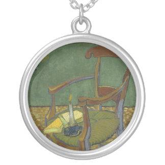 La silla de Gauguin Colgante Redondo