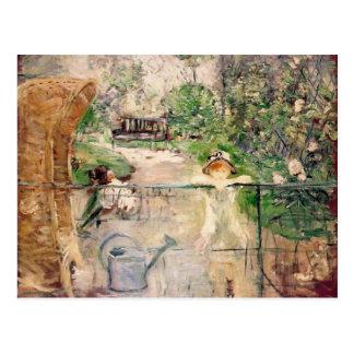 La silla de la cesta, Berthe Morisot Tarjetas Postales