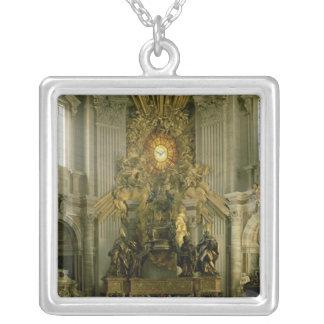 La silla de San Pedro, 1665 Collar Plateado