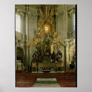 La silla de San Pedro, 1665 Póster