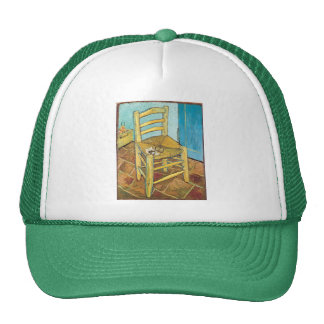 La silla de Van Gogh de Vincent van Gogh Gorras De Camionero