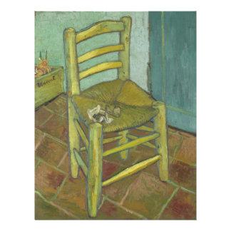 La silla de Van Gogh Flyer A Todo Color