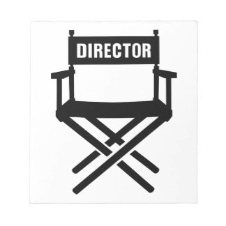La silla del director libretas para notas