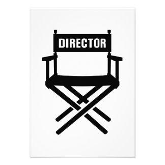La silla del director anuncios personalizados