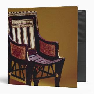 La silla del niño, de la tumba de Tutankhamun