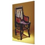 La silla del niño, de la tumba de Tutankhamun Impresion En Lona