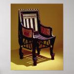 La silla del niño, de la tumba de Tutankhamun Posters
