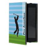 """La silueta del golfista """"añade su conocido """" iPad mini protector"""