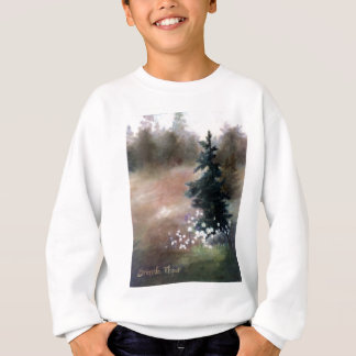 La simplicidad embroma la camiseta