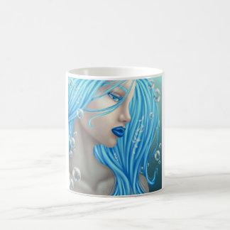 La sirena azul taza clásica