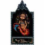 La Sirena - Day of the Dead - Mermaid Photo Sculpt Photo Cut Out