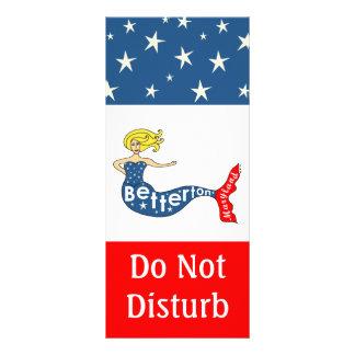 La sirena de Betterton no perturba Tarjetas Publicitarias Personalizadas