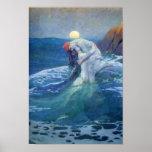 La sirena de Howard Pyle, 1919. Impresiones