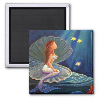 La sirena de la cubierta - imán del arte