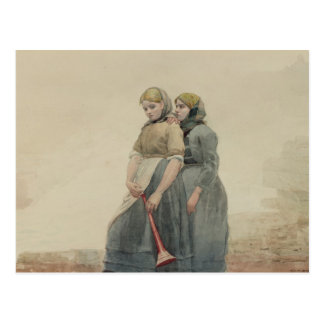 La sirena de niebla, 1883 (w/c) tarjetas postales