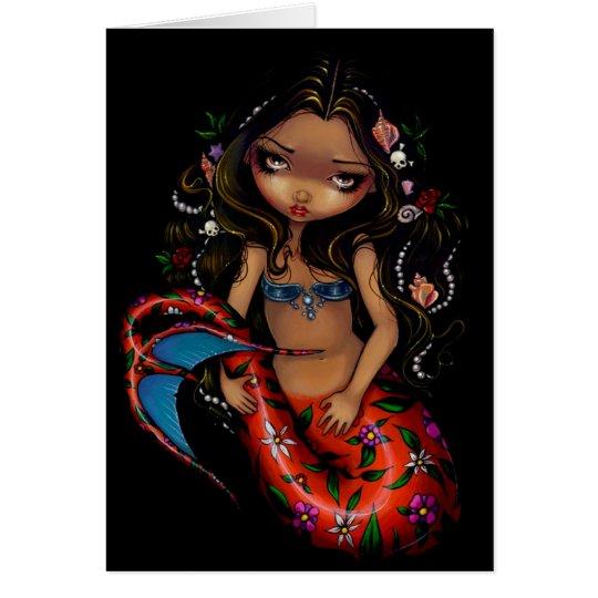 """La Sirena"" Greeting Card"