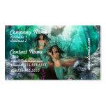 La sirena hermana tarjetas de visita