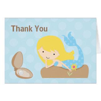 La sirena le agradece cardar tarjeta