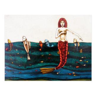 La Sirena Postcard