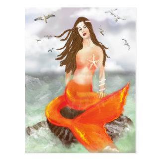 La sirena tarjetas postales