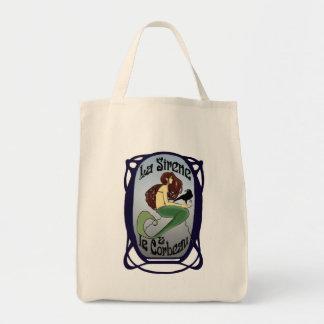 La Sirene et Le Corbeau Organic Tote