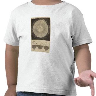 La Sistema Solar con órbitas Camiseta