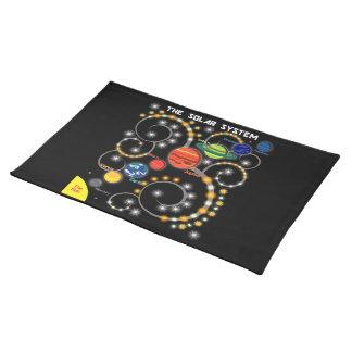 La Sistema Solar Mantel Individual