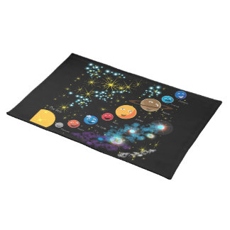 La Sistema Solar Manteles Individuales