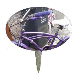 la situación pasada de la bici figuras de tarta