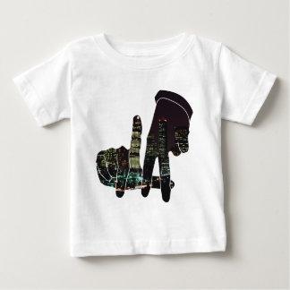 LA skyline hands Baby T-Shirt
