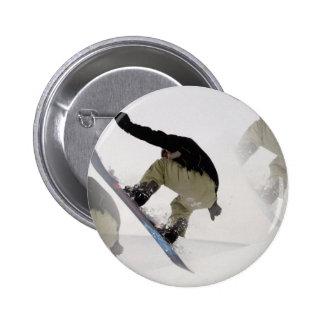 La snowboard cerca con barandilla alrededor del bo pin redondo de 2 pulgadas