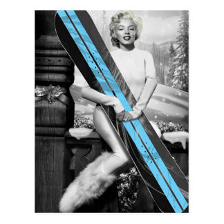 La snowboard de Marilyn Postal