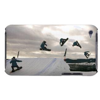 La snowboard engaña el caso de iTouch Case-Mate iPod Touch Cárcasas