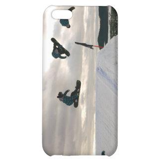 La snowboard engaña el caso del iPhone 4
