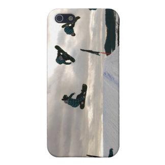 La snowboard engaña el caso del iPhone 4 iPhone 5 Funda