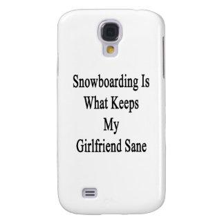 La snowboard es qué mantiene a mi novia sana